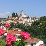  Barga from roof of La Pergola