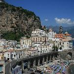 Atrani from the path to Amalfi