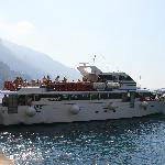 Our bus to Positano
