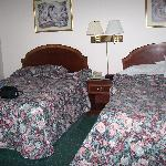 Double beds - lots of room