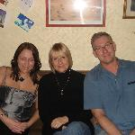  Paul ,Sue and me ! new year 08
