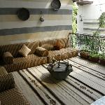 Ist floor balcony lounge