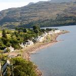 Shieldaig - the hotel is on the right