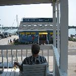 View from the Harborside Porch