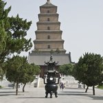 View of Wild Goose Pagoda