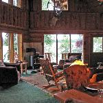  interior of main lodge