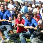 St Lawrence fair tug of war