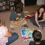 Sunshine Mountain Lodge provides boardgames!