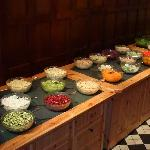 The fantastic salad bar