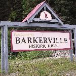 SIgn to Barkerville