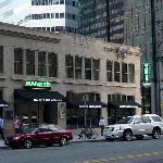 Manny's Steakhouse, on the corner of 9th St. and Marquette Ave in the W Foshay hotel