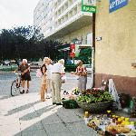 Street vendor by hotel