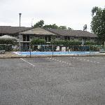 Villager Lodge Motel- Outside Pool with diving board