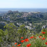  vue sur les Baux