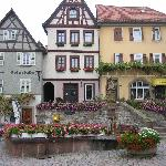 Flowers in the town of Bad Wimpfen