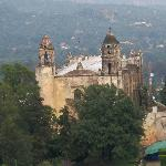 The Church in Tepoztlan
