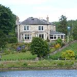 Park House from across Loch Shin