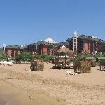 Pegasos Resort from beach