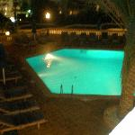 Pool bar by night