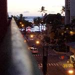 Waikiki Beach from balcony