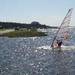  Wind Surfing from Beach