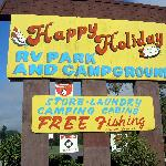 Happy Holiday Campground resmi