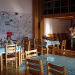  common room/restaurant - sunny &amp; cheerful and roomy!