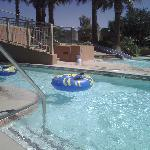 Morongo Resort: lazy pool