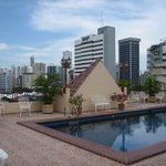  Rooftop pool and view