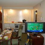 Suite 201 converted into a command post!
