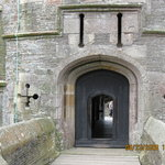 Entrance to Castle. Former guard house/ticket booth behind me.
