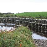 Ireland: co. Mayo - Clew Bay Trail 14 - The Clapper Bridge