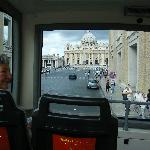  View approaching St Peter&#39;s square