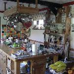 The homely kitchen