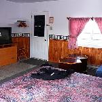  Entry side of the motel room