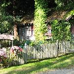 rose cottage outside