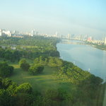  View from the 14th floor of the city and the nearby park/lake.