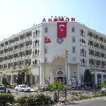 An external view of the hotel