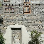 Seventeenth century walls enhanced with restored architectural details.