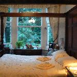 Bedroom overlooking the park