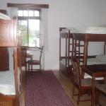 Bledec Hostel, view of room