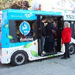  Free electric bus in Upper Old City (goes to various other locations, as well).