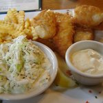 fish &amp; chips - yum!