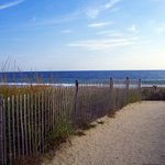 the Delaware seashore within walking distance