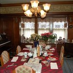  Dining room at Longwell Hall