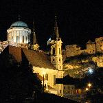 Esztergom Cathedral - view from the slovakian side of the danube