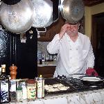  Bill preparing breakfast