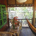  Balcony of a cottage, Mawar Cottages