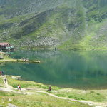 Balea Glacier Lake