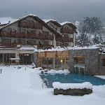 Hotel Engel im Winter